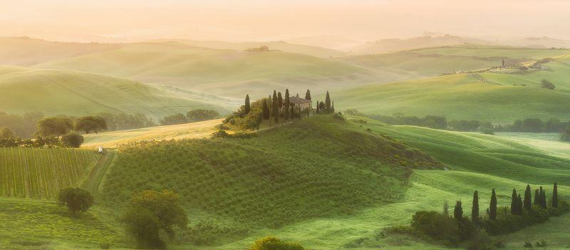 tuscany,italy, тоскана Tuscany morningphoto preview