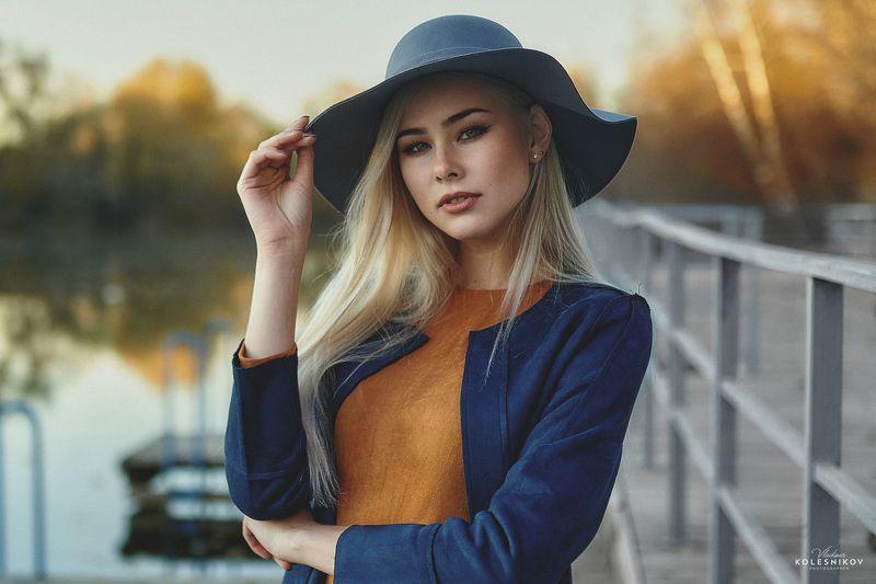 Осень, портрет, девушка, колористика, плэнер Портрет Анныphoto preview