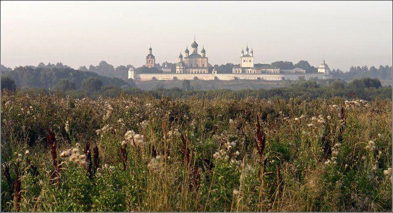 горицкий, монастырь, переславль, залесский, золотое, кольцо В утренней дымке встречая восходphoto preview