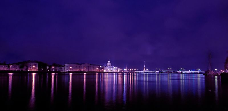питер , дворцовый мост , ночь Ночной Дворцовыйphoto preview