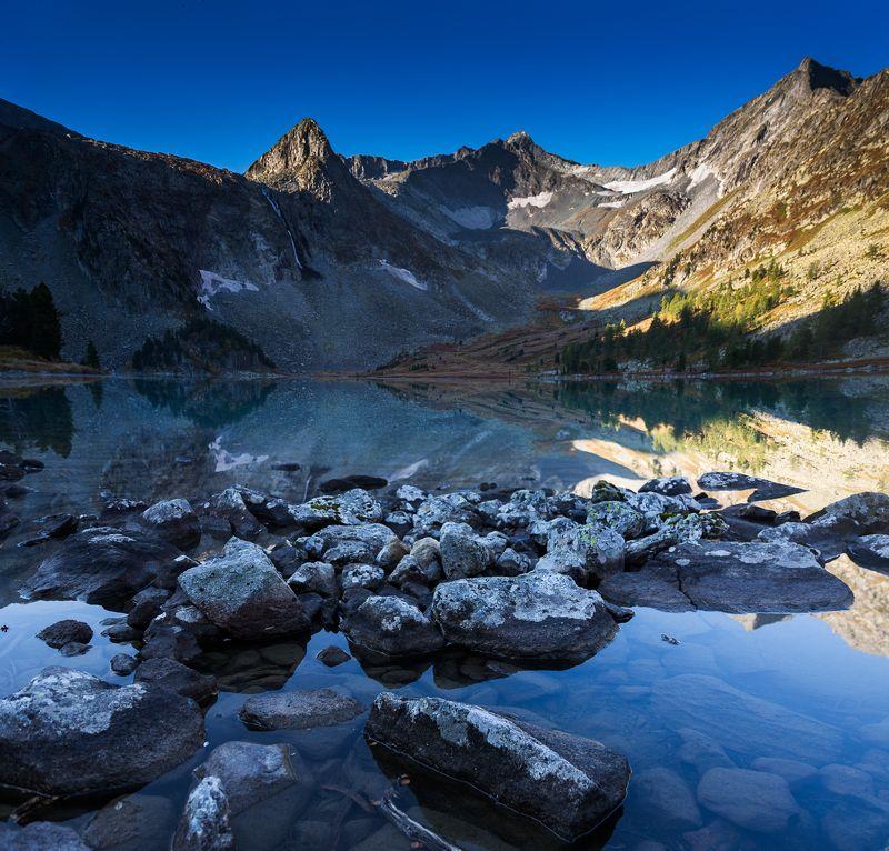 алтай, сентябрь, осень, горы, озеро, 2017 Крепкий рассветphoto preview