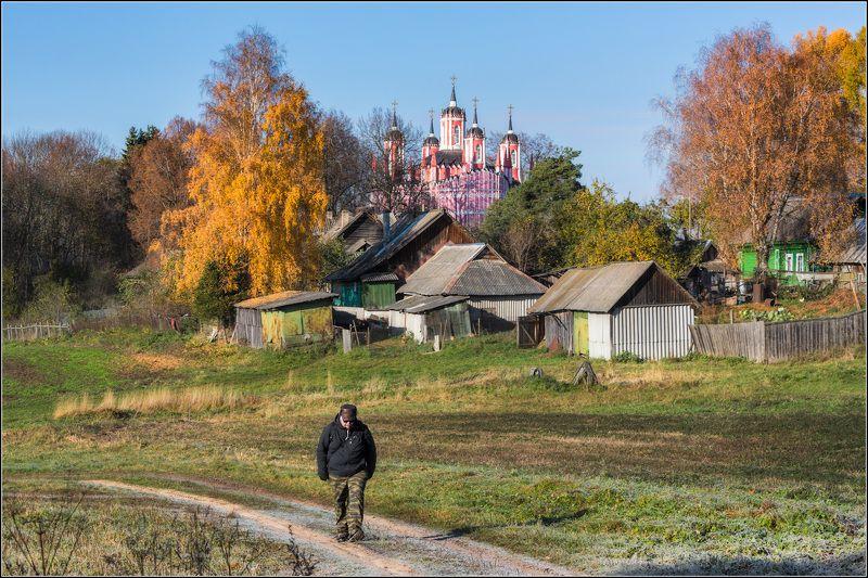 россия, тверская обл, красное Золотая осень в Красномphoto preview