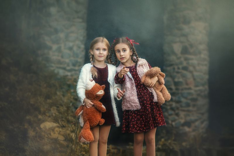 лилия назарова, дети, детский мир, девочка, игрушка, природа, сказка, малышка, собачка, платье, детство, волшебство, фотосессия Сказочное приключение | Liliya Nazarovaphoto preview