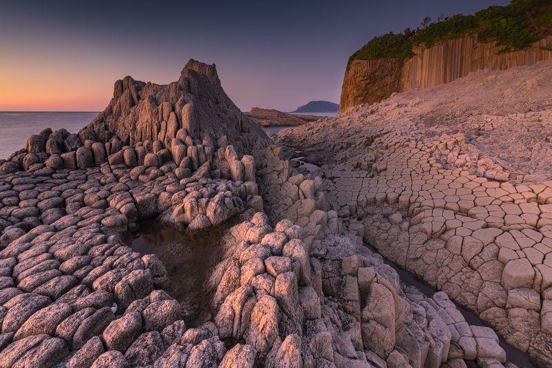 курилы, столбчатый, кунашир, охотское море Замки Кунашираphoto preview