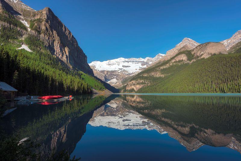 canada, banff, lake, nature, louise, moraine, landscape, scenery, mountain, canadian, rockies, summer, rocky, alberta, scenic, canoes, sunrise, hiking, trekking, national, park, calgary, scenery, switzerland, italy, france, alps, alpine, Lake Louisephoto preview