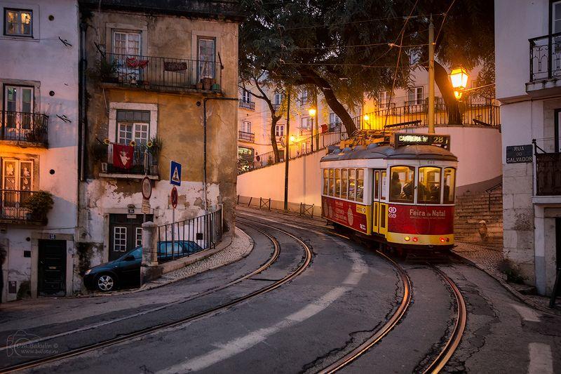 lisboa Лиссабонский трамвайphoto preview
