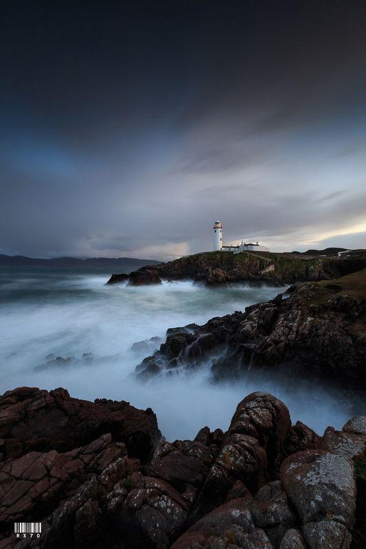 ireland, donegal, fanad head lighthouse, longexposure, sigma, nisi, lee, haida, suset, clouds, canon Fanad Head Lighthousephoto preview