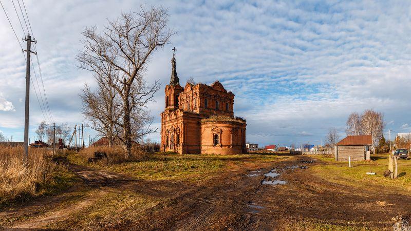 Церковь Николая Чудотворца в с. Алкужинские Борки Тамбовской области.photo preview