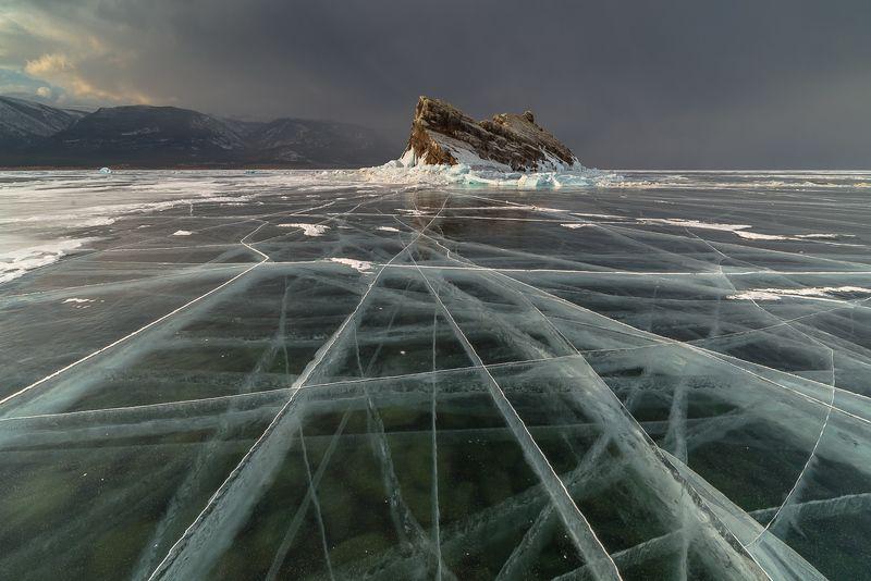 байкал, зима, лед Ледяная песняphoto preview
