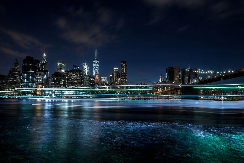 new-york newyork skyscrapers brooklin Sky Line, New-York cityphoto preview
