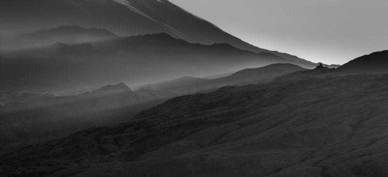 лучи камчатка россия горы вулкан земля долина Рассвет камчаткиphoto preview