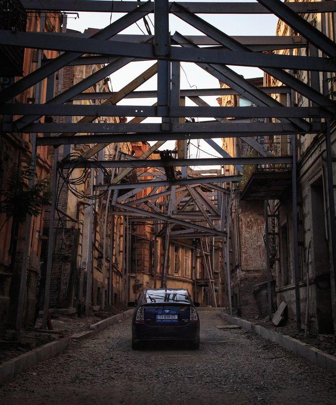 грузия 2017, тбилиси, старый город, лето Старый город.photo preview
