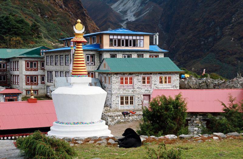 Тенгбоче, Непал, Гималаи ***photo preview