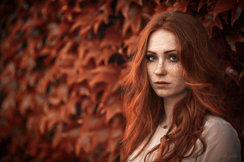 woman, portrait, redhair Firephoto preview