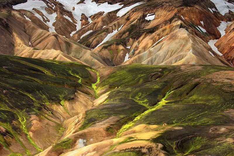 исландия, пейзаж, iceland, landmannalaugar, ландманналаугар Цветные горы Исландииphoto preview