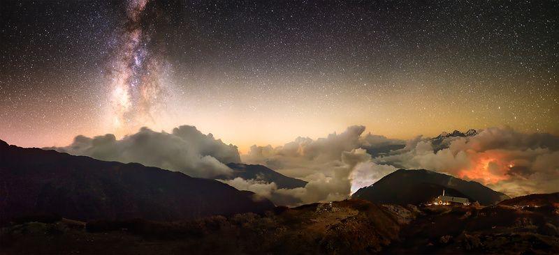 Ночь над Laurebina.photo preview