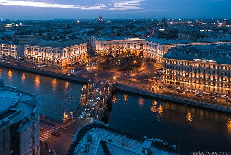 россия, петербург, санкт-петербург, осень, квадрокоптер, дрон, утро, вечер, закат, аэрофтосъемка Осень в Петербургеphoto preview