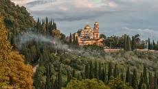Абхазия. Новоафонский монастырь.