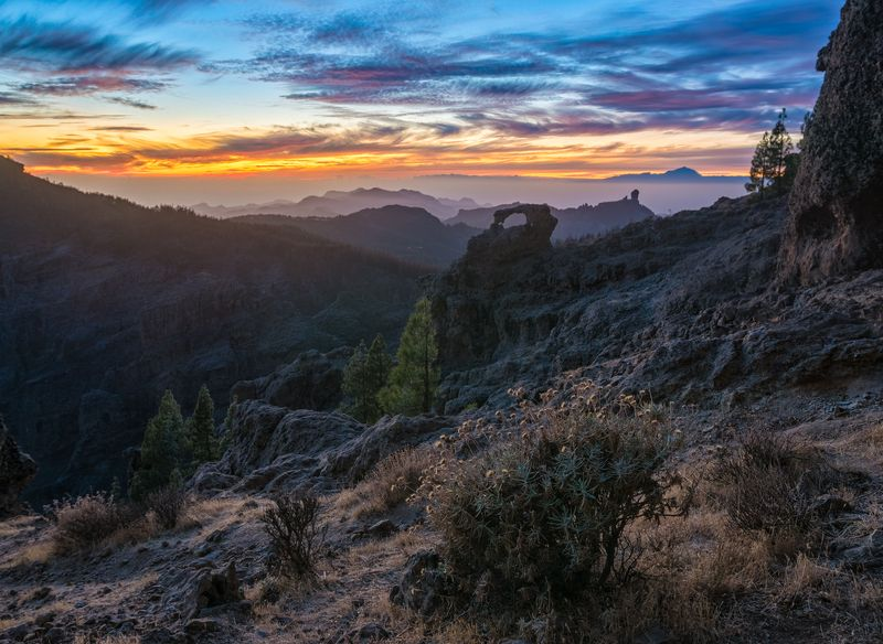 last light on gran canariaphoto preview
