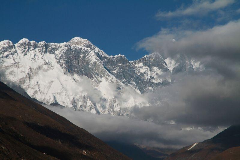 Эверест, Непал, Гималаи, Тенгбоче, Нупцзе, Лхоцзе, горы ***photo preview