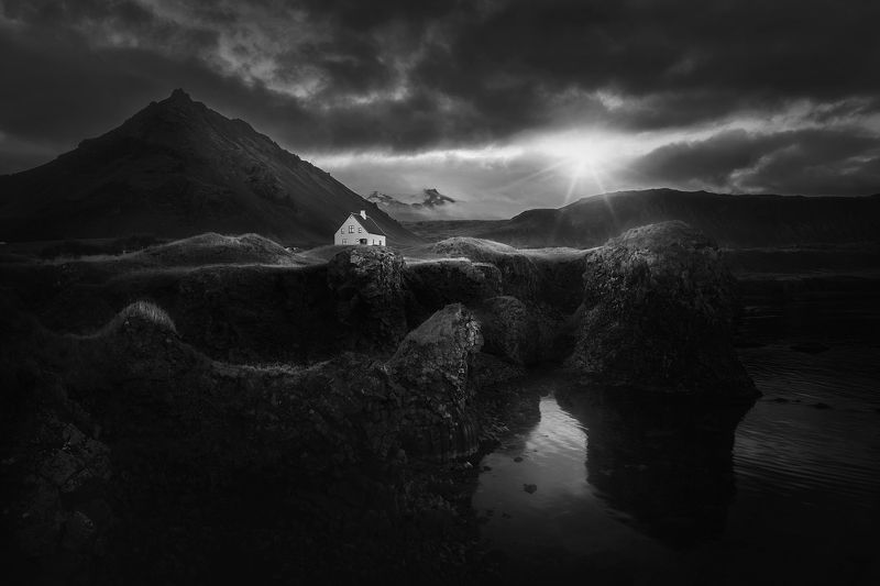iceland, landscape, nature, mountain Arnarstrapiphoto preview