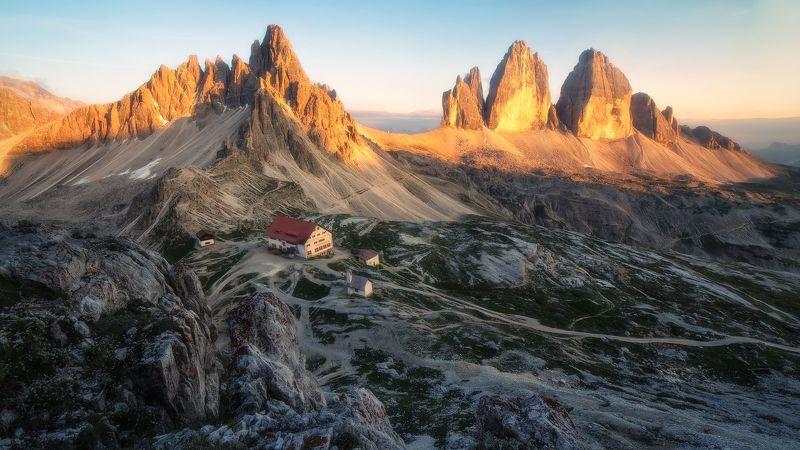 #italia #италия #горы #доломиты Tre Cime di Lavaredophoto preview
