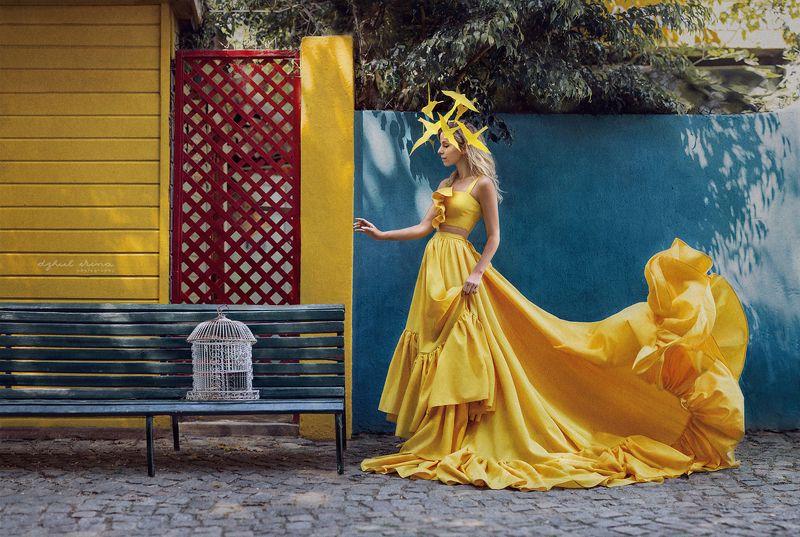 portreite people girl dzhulirina irinadzhul Птицаphoto preview