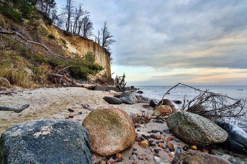 cliff, orłowo, poland Cliff of Orłowo. Polandphoto preview