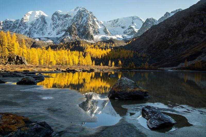 алтай,осень Золотой вечерphoto preview