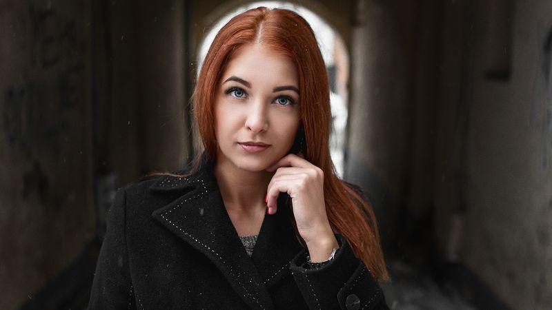 девушка, модель, зима, портрет Svetlanaphoto preview