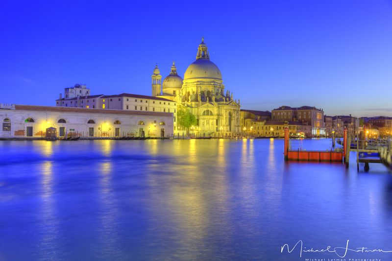 Blue night in Venicephoto preview