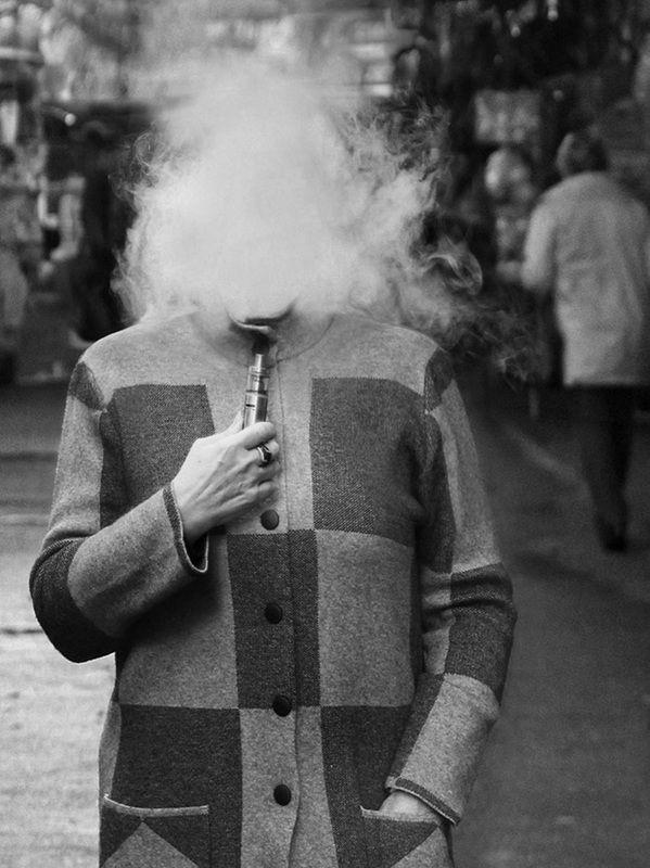 дым, женщина Эволюция образаphoto preview