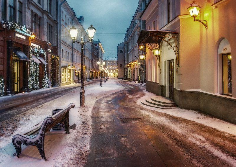 москва, новый год ...photo preview