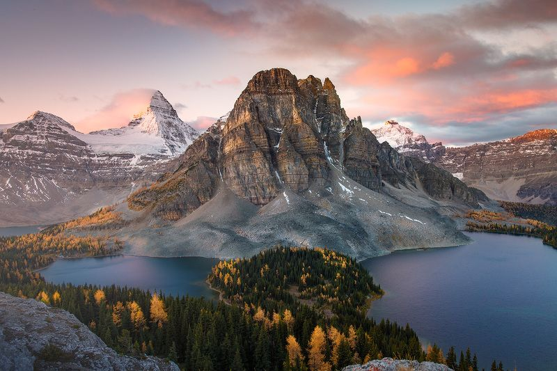 assiniboine, rockies, горы, путешествия, канада Замирая сердцемphoto preview