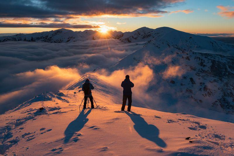 #landscape, #mountains, #poland, #tatras, #winter, #marcinkesek, #snow, #tatry Kasprowy Wierchphoto preview