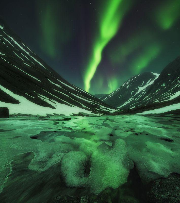 северное сияние,aurora borealis В поисках Аврорыphoto preview