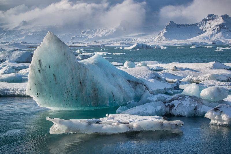 Лагуна айсбергов, Исландия  Лагуна айсберговphoto preview
