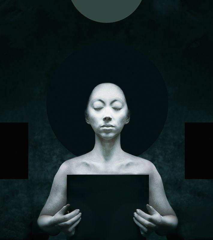 гуманоид, медитация, геометрия, портрет sanwecendaphoto preview