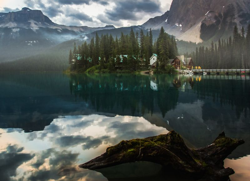 emerald, lake, озеро изумруд РАННИМ УТРОМphoto preview