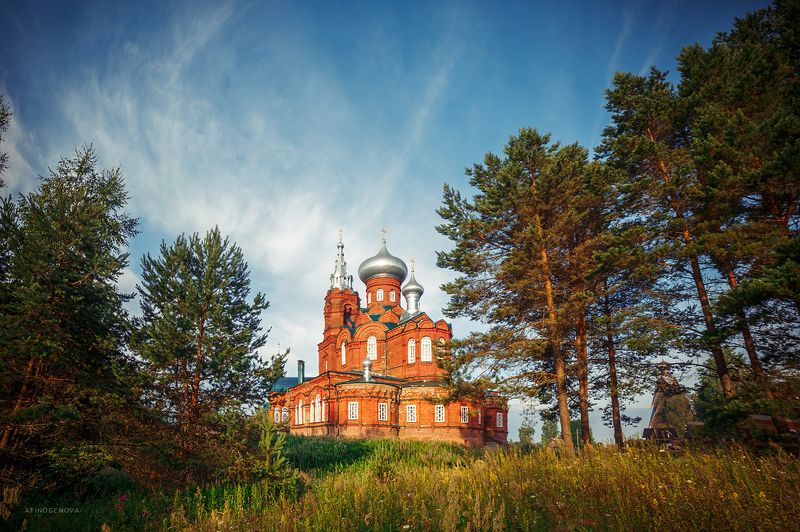 рассвет, утро, деревня, лето Утро в Ширковоphoto preview