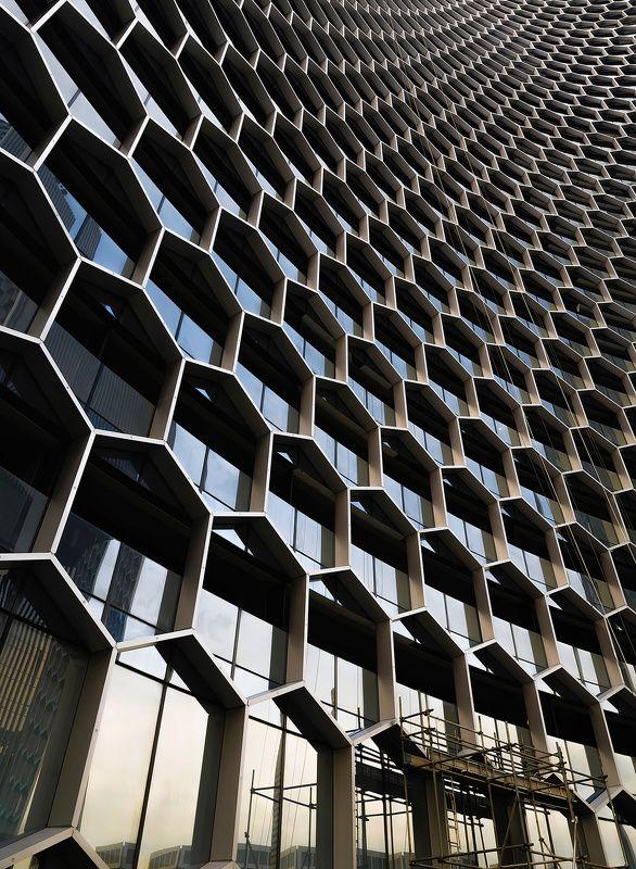 город, архитектура, небоскреб, абстракция Graphenephoto preview