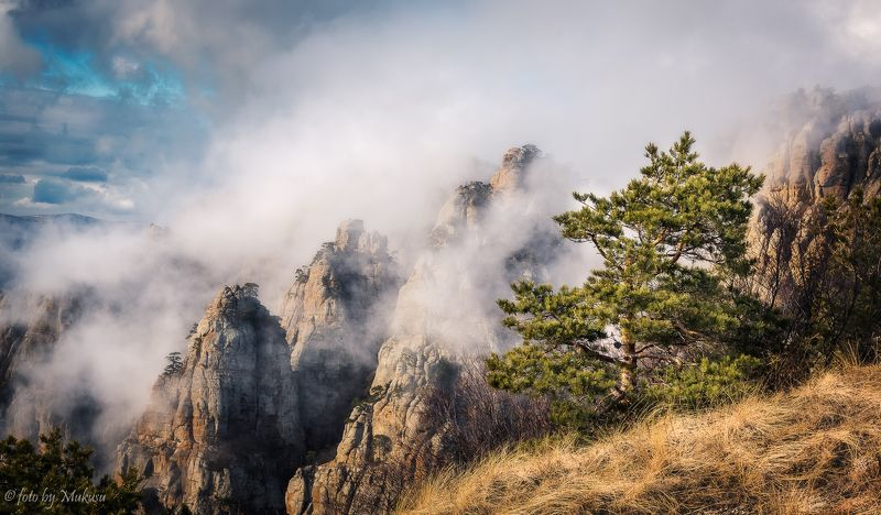 крым,landscape,travel,russia,демерджи Долина Приведений. Демерджи.photo preview