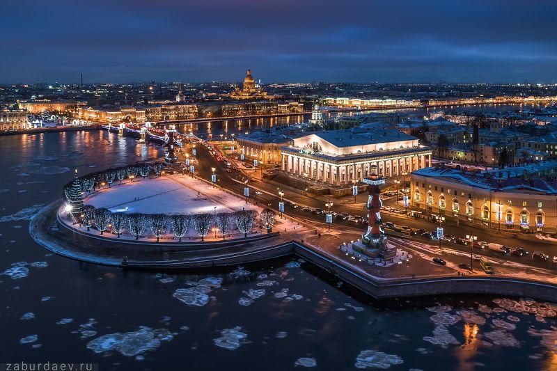 россия, петербург, санкт-петербург, питер, город, река, лед, вода, дрон, квадрокоптер Лед пошел (опять)photo preview
