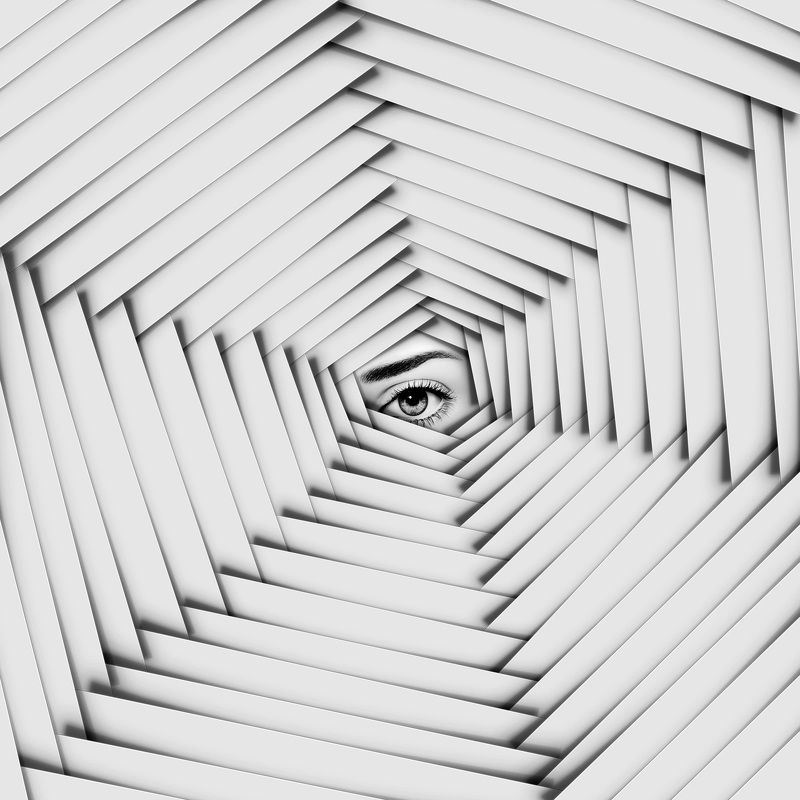surreal conceptul creativedit minimal b&w finart I see youphoto preview