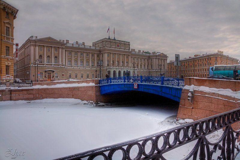санкт-петербург, зима Зимний Питерphoto preview