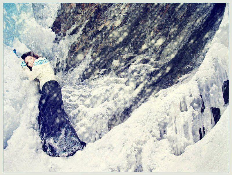 карпаты, девушка, настроение, воспоминание, водопад гук, женецкий Remembrancephoto preview
