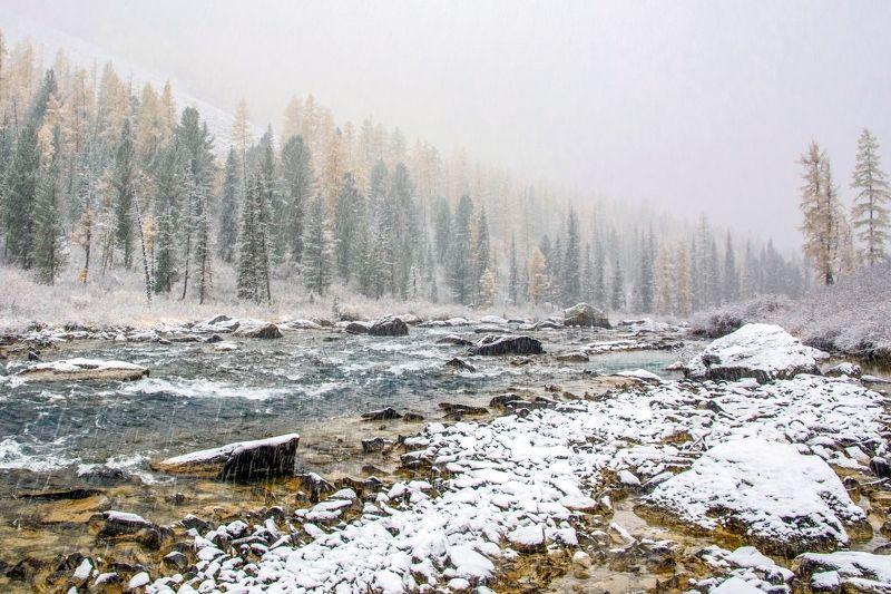 алтай,осень зима атакуетphoto preview