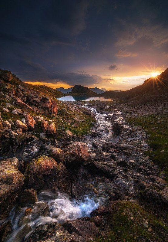 Рассвет на Софийских озерахphoto preview