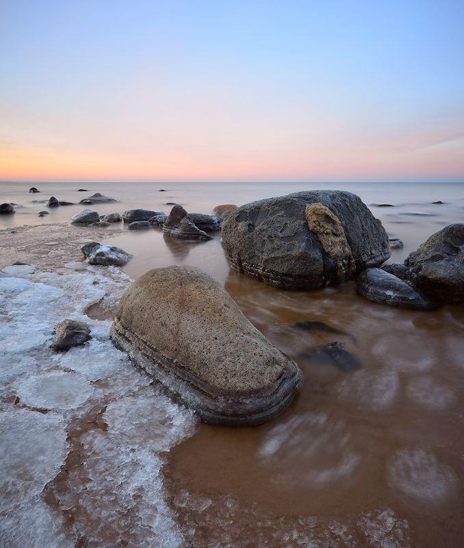 пейзаж море мороз рассвет -8Cphoto preview