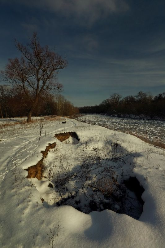 зима,река,снег, январь,яма Январские зарисовки.photo preview